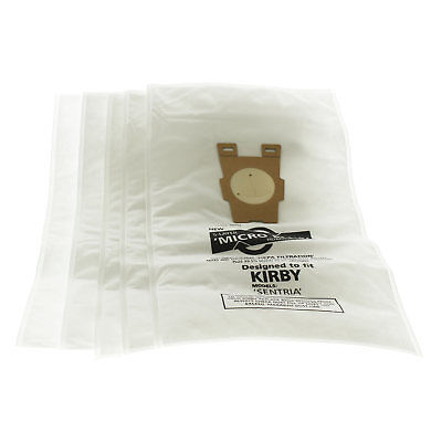 Vacuum Cleaner Hoover Dust Bags For Kirby Sentria Micro Plus Microfibre X 5 Pack • 8.25£
