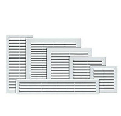£2.99 • Buy White Air Vent Grille With Fly Screen / Ventilation Duct Cover 4  6  8  10  12