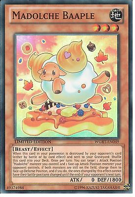Yu-gi-oh: Madolche Baaple - Super Rare - Wgrt-en049 - Limited Edition • 0.99£