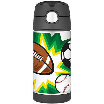 AU26.59 • Buy THERMOS Funtainer 355ml S/S Vacuum Insulated Beverage Bottle Multisports!
