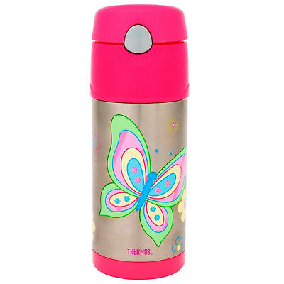 AU26.48 • Buy 100% Genuine! THERMOS Funtainer 355ml Vacuum Insulated Beverage Bottle Butterfly