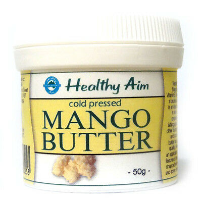 AU13.80 • Buy MANGO BUTTER Cold Pressed PREMIUM GRADE Anti Age 50g