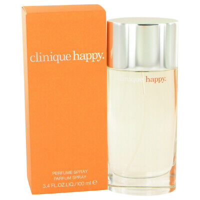 HAPPY By Clinique 3.4 Oz 100 Ml EDP Spray Perfume For Women New In Box • 35.42£
