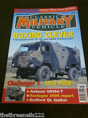 Classic Military Vehicle - Challenger 1 - March 2005 • 6.99£