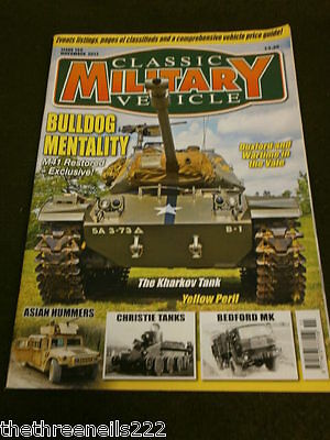 Classic Military Vehicle - Christie Tanks - Nov 2013 • 6.99£