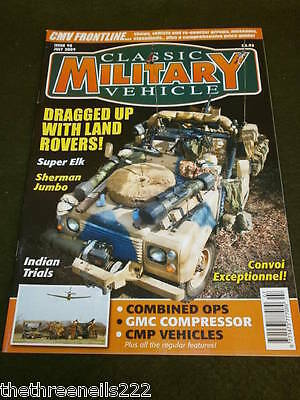 Classic Military Vehicle - Cmp Vehicles - July 2009 • 6.99£
