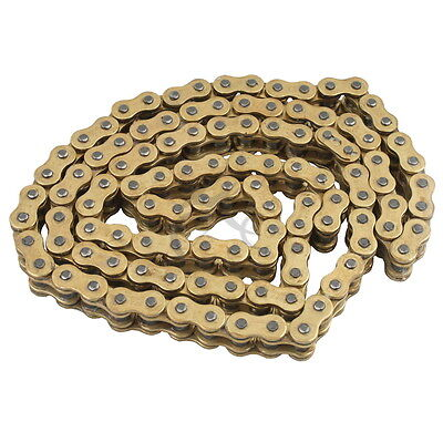 AU44.66 • Buy New Motorcycle 428 X 136 O-Ring Heavy Duty Drive Chain 428H 136L Gold