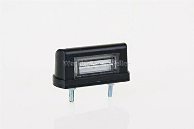 $ CDN15.16 • Buy LED License Plate Light 83x40x30mm BLACK + 0.5m Cable + 2x1,5mm² Quick Connector