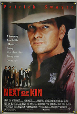 £14.54 • Buy Next Of Kin Rolled Orig 1sh Move Poster Patrick Swayze Liam Neeson Action (1989)