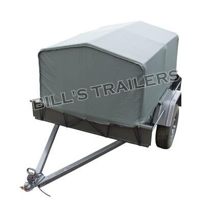 AU890 • Buy 6X4 Canvas Cover Trailer | Brand New Tyres | Australian Made