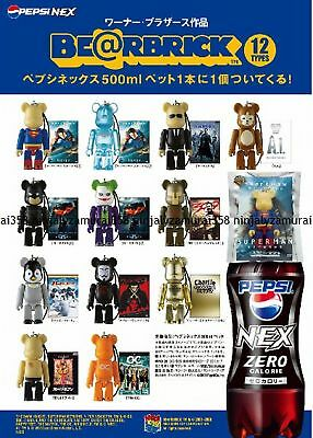 $68.99 • Buy PEPSI×WARNER BE@RBRICK BEARBRICK Set Figure 12 Medicom