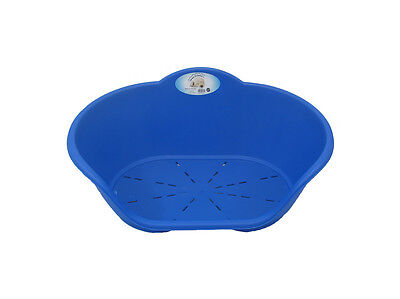 Heavy Duty Royal Blue Pet Bed Dog Cat Beds Plastic Basket Dogs Cats Pets Animal  • 16.95£