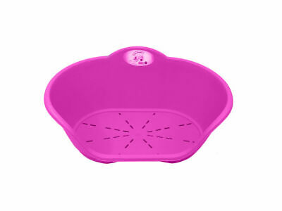 Heavy Duty Plastic Pink Pet Bed Dog Cat Beds Basket For Cats & Dogs • 10.79£