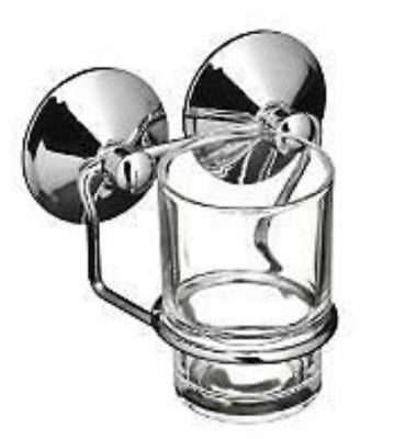 Glass Tumbler With Holder Suction Fixing By Premier £7.99 • 7.99£
