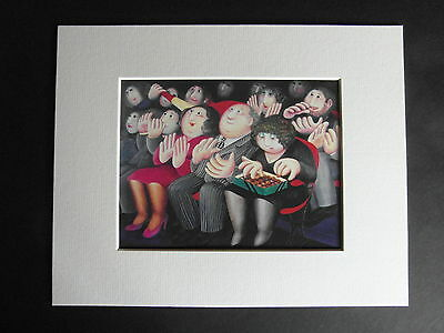 £4.85 • Buy Beryl Cook  Balletomanes  Mounted Card 10 X 8 Funny