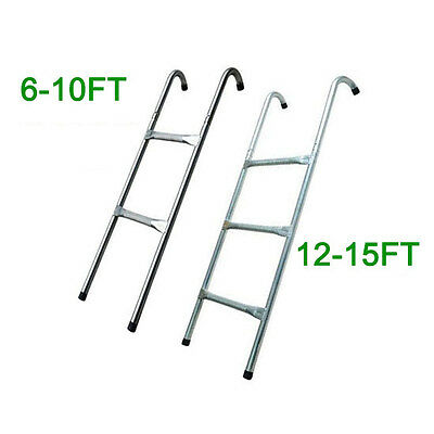 £20.99 • Buy 8 10 12 13 14 15 Ft Trampoline Replacement 2 3 Steps Ladder Outdoor Sport