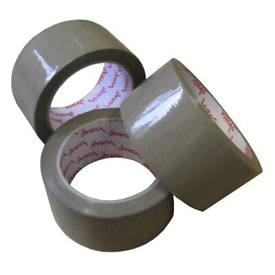 £38.99 • Buy Vibac Premium Packing / Parcel Tape- Clear Or Buff 48mm X 66m Various Quantities