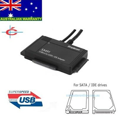 AU47.90 • Buy Hard Disk / CD Drive To USB 3.0 Adapter 2.5  3.5  SATA IDE HDD To 5Gbps