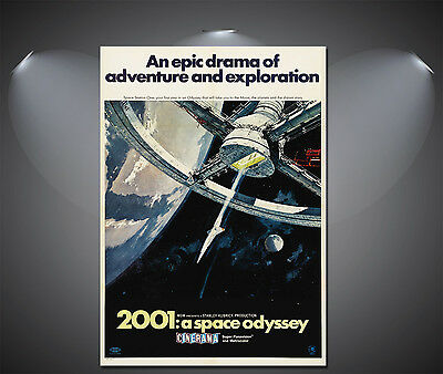 £1.85 • Buy 2001: A Space Odyssey Vintage Movie Poster - A1, A2, A3, A4 Available