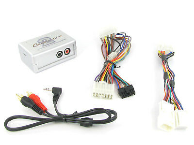 Toyota AUX Adapter Avensis Corolla  Lead 3.5mm Jack Input Car IPod MP3 CTVTYX002 • 39.99£