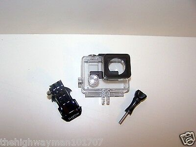 $ CDN17.75 • Buy Genuine GoPro Hero 3,3+plus Fits4 Slim Waterproof Housing Case J-hook