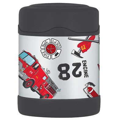 AU26.50 • Buy THERMOS Funtainer Stainless Steel 290ml Vacuum Insulated Food Jar Fire Truck!