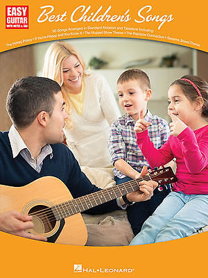 Best Children's Songs Sheet Music Easy Guitar Book NEW 000119835 • 10.40£