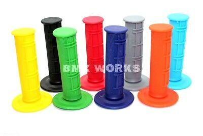 AU8.80 • Buy BMX Works Half Waffle 22mm BMX Grips Perfect For That Old School Build