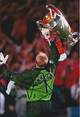 Peter SCHMEICHEL SIGNED Autograph Manchester United Goalkeeper Photo AFTAL COA • 99.99£