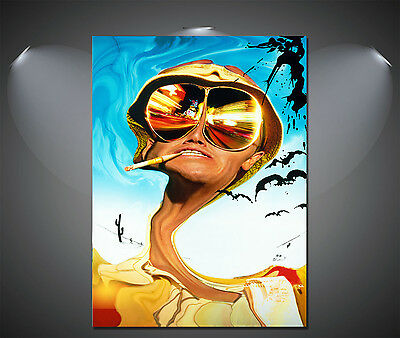 £5.90 • Buy Fear And Loathing In Las Vegas Vintage Movie Poster - A1, A2, A3, A4 Available