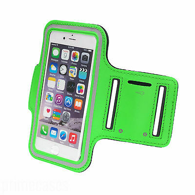 Sports Running Jogging Gym Armband Waterproof Cover For IPhone 5,5s,5c Green • 3.27£