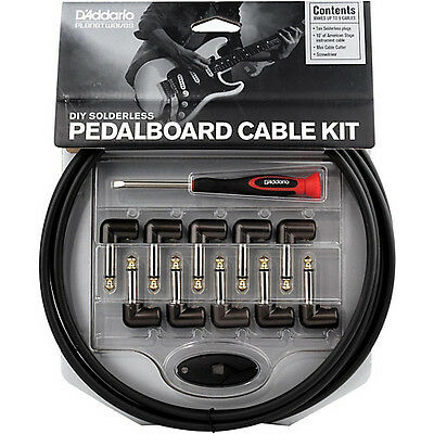 $ CDN132.05 • Buy Planet Waves Cable Station Guitar Effect Pedal Solderless Patch Cable Kit - NEW!