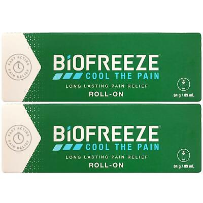 £18.50 • Buy Biofreeze Biofreeze Pain Relieving Roll 89ml - 2 Pack