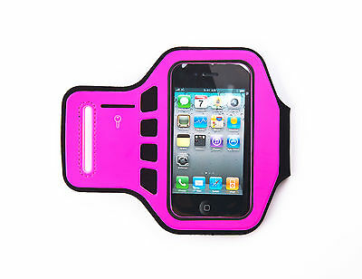 £3.95 • Buy Ultimate IPhone 4, 4G, 4s Supreme Quality Jogging Running Hot Pink Armband