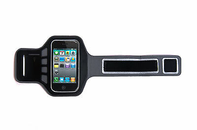 £3.95 • Buy Ultimate IPhone 4, 4G, 4s Supreme Quality Jogging Running Gym Black Armband