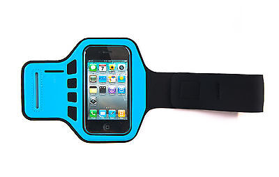 £3.95 • Buy Blue Armband Case Cover IPhone 4, 4G, 4s Supreme Quality Jogging Running Gym