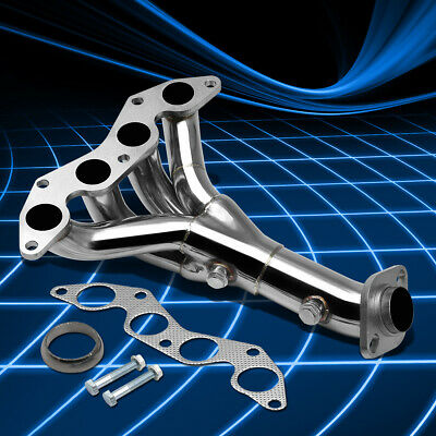 $57.88 • Buy For 01-05 Honda Civic 1.7 DX/LX EM2/ES1 Stainless Steel Header Manifold Exhaust