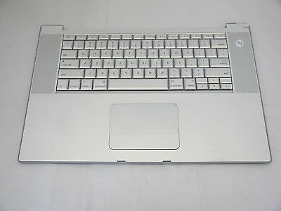 $24.88 • Buy Top Case Palm Rest US Keyboard With Trackpad Touchpad MacBook Pro 15  A1260 2008