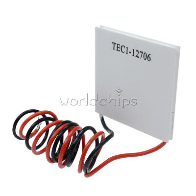 £11.32 • Buy 5Pcs12V 60W TEC1-12706 Heatsink Thermoelectric Cooler Peltier Cooling Plate New