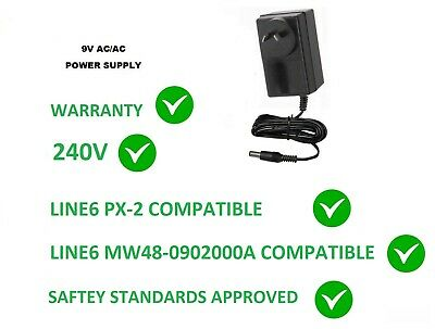 AU37.95 • Buy 9V AC/AC 2000MA 2AMP FOR LINE 6 PX-2 EFFECTS PEDALS  9 VOLT POWER SUPPLY 2A Px2