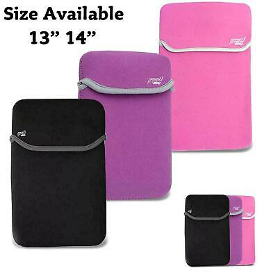14  Inch Soft Neoprene Sleeve Protection Case Cover Bag Pouch For Laptops Tablet • 3.39£