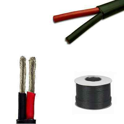 Marine Grade 2 Core Cable - 2 X 2.5mm Tinned Conductors - All Lengths Flat Twin • 46.99£
