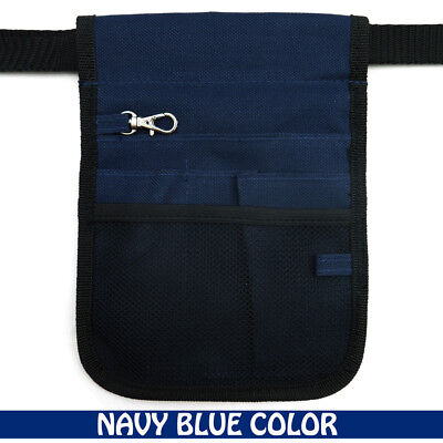 AU8.25 • Buy Nurse Vet  Physio Teacher Medical Professions Waist Belt Pouch Bag - NAVY BLUE