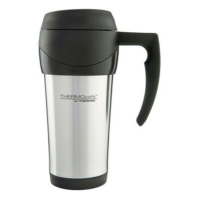 AU18.80 • Buy THERMOS THERMOCAFE 450ml Thermos Café Stainless Steel Travel Mug! RRP $24.99!