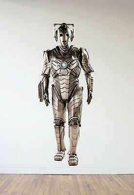 £50.08 • Buy Doctor Who Cybermen Repositionable Wall Decal Sticker-Sci-Fi-TV-Whovian-Gift!