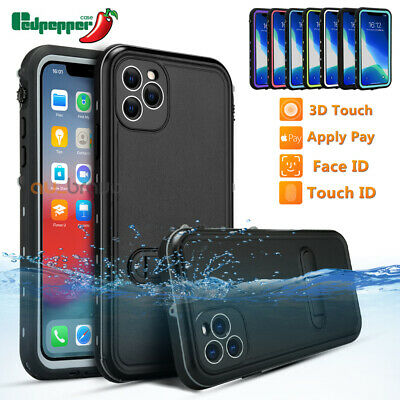 AU13.95 • Buy Waterproof Tough Armor Case Cover For Apple IPhone 12 11 Pro MAX XS XR X 8 Plus