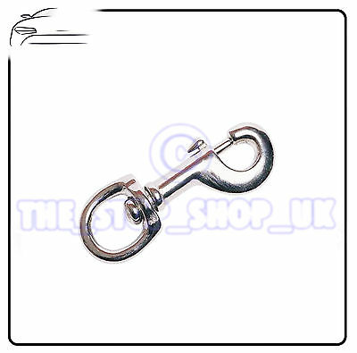 Swivel Snap Hook 2 X 1/2  Belt Key Id Hook Clip X1 Tm869 • 2.48£