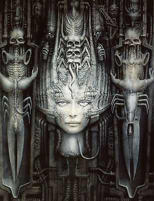 £4.75 • Buy HR Giger Necronomicon Monsters HRN01 POSTER ART PRINT A4 A3 BUY 2 GET 1 FREE