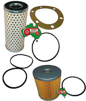 AU27.74 • Buy Fuel Oil Filter Kit Chamberlain Tractor 9G MK2 Industrial Backhoe Late Model
