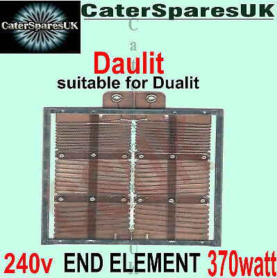 £6.99 • Buy OLD TYPE HEATING ELEMENTS FOR 4 DUALIT TOASTER 370w END STYLE SPARES PARTS 240V